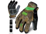 Ironclad Performance Wear 207533 Project Impact Gloves - Large 9SIV06W68A4611