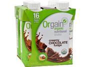 Orgain HG1083419 11 fl oz Organic Nutrition Shake - Chocolate Fudge, Case of 12