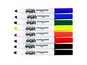 School Smart 086411 Non-Toxic Quick Dry Washable Marker, Chisel Tip, Assorted Colors, Pack 8 9SIA00Y5UN8492