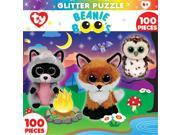 Masterpieces 11623 Beanie Boo Glitter Campfire Club Jigsaw Puzzle, 100 Pieces 9SIV06W6888531