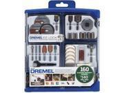 Dremel 733832 All Purpose Kit Accessory, 160 Pieces