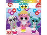 Masterpieces 11626 Beanie Boo Glitter Sprinkles Club Jigsaw Puzzle, 100 Pieces 9SIV06W6899783