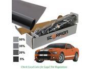 Scorpion DS5B20 20 in. x 100 ft. Window Tint Desert Series 2 Ply 5 Percentage Roll 2 Ply Extruded Dye