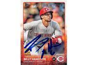 Autograph Warehouse 344555 Billy Hamilton Autographed Baseball Card - Cincinnati Reds 2015 Topps No. 333 All Star Rookie Cup 9SIV06W6DZ4650