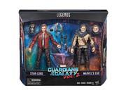 Hasbro HSBC1988 Guardians of The Galaxy Legends Star Lord Ego, Pack of 2 9SIA00Y6M95606