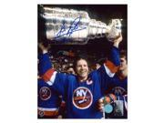 AJ Sports World POTD11502A Denis Potvin New York Islanders Autographed Stanley Cup Champion Photo, 8 x 10 in. 9SIV06W6NG5230