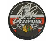 Schwartz Sports Memorabilia VERPUC401 Kris Versteeg Signed Chicago Blackhawks 2010 Stanley Cup Champs Logo Hockey Puck 9SIA00Y6NB3221