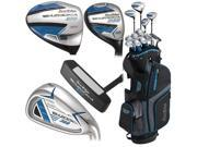 Tour Edge Golf B3SLGU13.B Male Bazooka 360 Box Full Set, Black & Blue 9B-01X-0039-00481