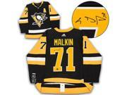AJ Sports World MALE13300B Evgeni Malkin Pittsburgh Penguins Autographed Adidas Authentic Hockey Jersey 9SIA00Y6R51951