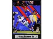 Encore Select 511-13 9 x 12 in. Odell Beckham Jr New York Giants Plaque 9SIA00Y6WY8559