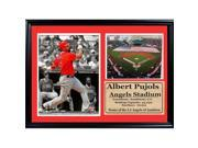 Encore Select 125-01 12 x 18 Photo Stat Frame - Albert Pujols Los Angeles Angels 9SIA00Y6WY8572