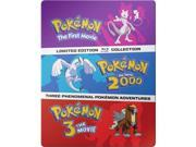 Warner Home Video VIZ BR585436 Pokemon Movies 1-3 Collection Blu-Ray, Pack of 3 9SIA00Y6YF7029