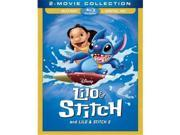 Buena Vista Home Video DIS BR143657 Lilo & Stitch & Lilo & Stitch 2 Stitch Has A Glitch DVD - Blu-Ray 9SIV06W6YM5710