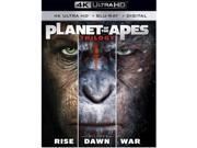TCFHE FOX BR2343460 Planet of the Apes 1-3 Trilogy Blu-Ray - 4K-UHD & Digital HD - Pack of 3 9SIV06W70W8194