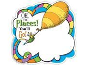 Eureka EU-841541BN Dr Seuss Oh the Places Paper Cut Outs - Pack of 6
