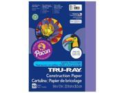Pacon PAC103009BN 9 x 12 in. Tru Ray Violet Construction Paper - 50 Sheet per Pack 9SIA00Y70T8030