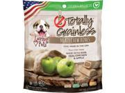 Loving Pets Products LP5309 Totally Grainless Meaty Chewy Bones For Small Dogs Chicken & Apple - 6 oz. 9SIV01U81U4408