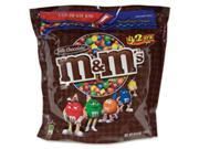 Mars, Inc MRSSN32438 M&Ms Candy, with Zipper on Bag, 42 oz., Milk Chocolate