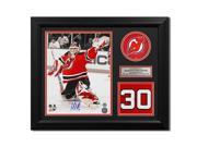 Autograph Authentic BROM13552A 23 x 19 in. Martin Brodeur New Jersey Devils Signed Retired Jersey Number Frame 9SIV06W80E8175