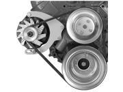 Alan Grove Components 225R Alternator Bracket - BB Chevy - Long Water Pump - Mid-Mount - Right Hand