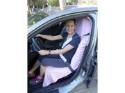 NeatSeat Comfort Clean Microfiber Universal Front Car Seat Protector Cover - Pink