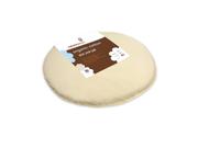 Naturepedic Organic Cotton Oval Ultra Infant Crib Mattress in Natural Fits Stokke Sleepi Mini