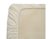 Naturepedic Organic Cotton Ivory Sateen Bassinet Sheets - SB50I