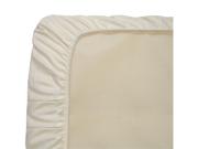 Naturepedic Organic Cotton Ivory Sateen Cradle Sheet - SD50I