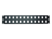 Image of Cable Wholesale 24 port Blank Keystone Patch Panel