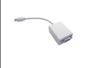 Mini DVI (for Apple) to Regular VGA Female Adapter - 6 Inches