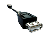 Black - USB Extension, Fully Rated 24 AWG