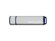 Super Talent 32GB USB 3.0 Express ST4 Flash / Thumb Drive (ST3U32ST4M-32GB) - Gray