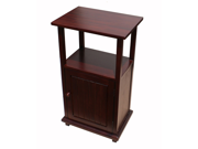 D-Art Mahogany Finish Simplicity End /Side Table