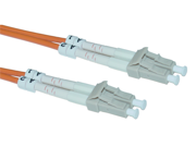 Offex Wholesale LC / LC Multimode Duplex Fiber Optic Cable 50/125 - 2 Meter (6.6 ft)