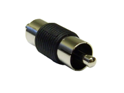 Cable Wholesale RCA Male to RCA Male RCA Coupler / Gender Changer, Nickel Plated