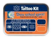 Clearsnap School Auburn University Sports Logo Colorbox Tattoo Kit Orange, Blue