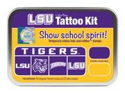 Clearsnap Louisiana State University Sports Colorbox Tattoo Kit Purple Gold
