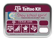 Clearsnap Texas A  M Sports Team Logo Colorbox Tattoo Kit White, Maroon