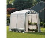 6x8x6ft.,6in. /1,8×2,4x2m (3)Rib Peak Style Grow It Greenhouse Translucent Cover