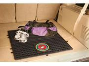 Fanmats Sports Team Logo Marines Heavy Duty Vinyl Cargo Mat