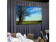 """Ultra Velour Drapery Kits for Fast-Fold Deluxe Frames Without Skirt Bar 7'6"""" x 10' Area 12'3"""""""