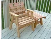 Image of Creekvine Designs Home Outdoor Cedar Country Hearts Patio Chair