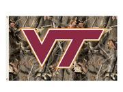 Bsi Products 95411 3 Ft. X 5 Ft. Flag W/Grommets - Realtree Camo Background - Virginia Tech Hokies 9SIV06W2ED3206