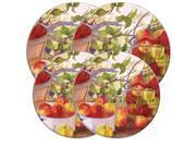 "Range Kleen Kitchen Electric Stove Cooktop Round Burner Kovers ""Apple Harvest"""