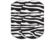 "Range Kleen Kitchen Electric Stove Cooktop Round Burner Kovers ""In the Wild - Zebra"""