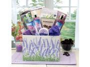Gift Basket Drop Shipping Moments Of Relaxation Lavender Spa Gift Box