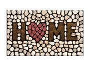 Buymats Home Outdoor Decor 18 x 30 Home Stone Mat