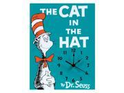Trend-Lab Home Décor Dr. Seuss The Cat in the Hat Wall Clock