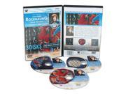 Weber Dahl Dvd 3 Disc Series With Rosemaling Oil Painting 3 Hour Includes 3290 3291, 3292 Dvds