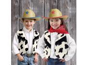 Cow Print Vest Child - One-Size